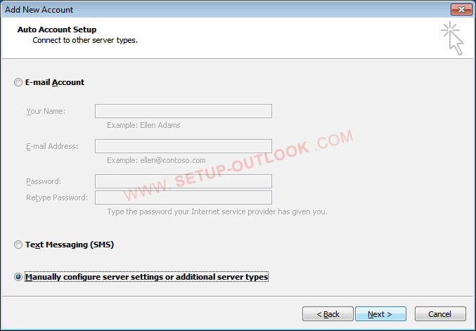 How to set up outlook 2010 with Gmail